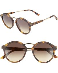 Electric - Mix Tape 52mm Mirrored Round Sunglasses - - Lyst
