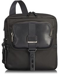 e25e589b5c44 Lyst - Longchamp Nyltec Messenger Bag in Black for Men