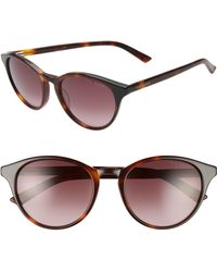 Ted Baker - 52mm Gradient Cat Eye Sunglasses - Lyst