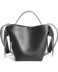 Acne Studios - Musubi Leather Mini Bag - - Lyst