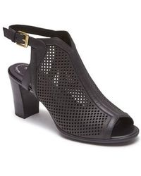 Rockport - Total Motion Luxe Perforated Sandal - Lyst