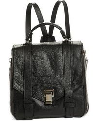 Proenza Schouler - Ps1 Leather Convertible Backpack - Lyst