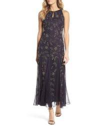 Pisarro Nights - Beaded Godet Gown - Lyst