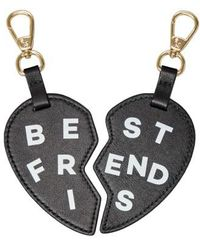 POP AND SUKI - Bff Heart Bag Charms - Lyst
