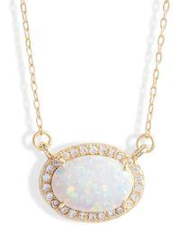 Melinda Maria - Ciera Opal Pendant Necklace - Lyst
