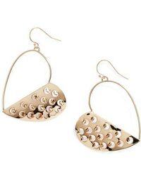 Alexis Bittar - Half Grater Heart Wire Earrings - Lyst