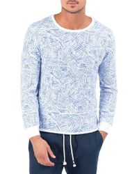 Sol Angeles - Habana Blues Fleece Pullover - Lyst