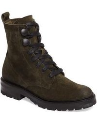 Frye - Julie Hook Combat Boot - Lyst