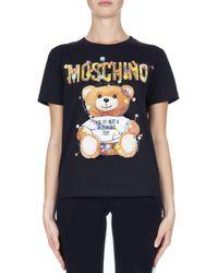 Moschino - Christmas Teddy Tee - Lyst