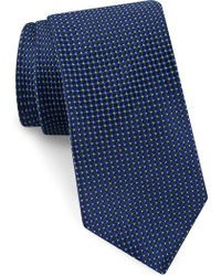 Ted Baker - Grid Silk Tie - Lyst
