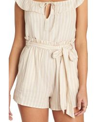 Billabong - Fake Out Paperbag Waist Shorts - Lyst