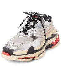 Balenciaga - Triple S Low Top Sneaker - Lyst