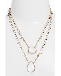 Gas Bijoux - Scapulaire Convertible Pendant Necklace - Lyst