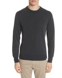 Norse Projects - Magnus Combed Cotton Crewneck Sweater - Lyst