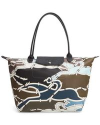 Longchamp - Large Galop Shoulder Tote - - Lyst
