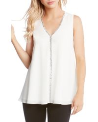 Karen Kane - Sparkle Swing Top - Lyst