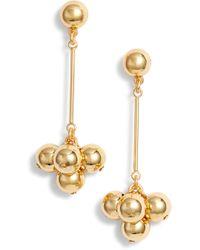 J.Crew - Pendulum Ball Earrings - Lyst