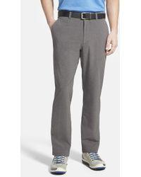 Cutter & Buck - 'bainbridge' Drytec Moisture Wicking Flat Front Pants - Lyst