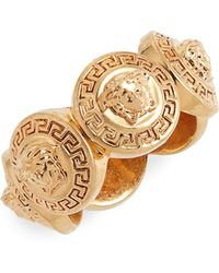 Versace - Gold-tone Ring - Lyst
