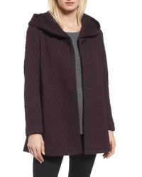 Gallery - Cozy Knit Coat - Lyst