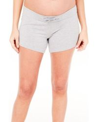 Ingrid & Isabel - Ingrid & Isabel Maternity Lounge Shorts - Lyst