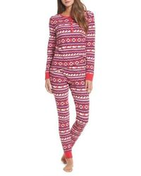 Vineyard Vines - Whale Isle Waffle Knit Pajama Set - Lyst