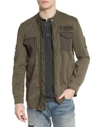 John Varvatos | John Varvatos Star Usa Shirt Jacket | Lyst