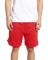 b445b8b89757a1 Lyst - Nike Air 11 Reversible Basketball Shorts in Red for Men