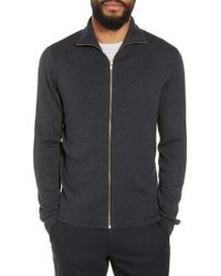 Calibrate - Mock Neck Zip Sweater - Lyst
