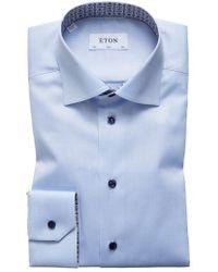 Eton of Sweden - Slim Fit Solid Dress Shirt - Lyst
