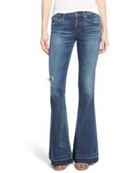 Agolde - A Gold E 'madison' Flare Jeans - Lyst