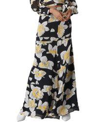 Whistles - Rika Floral Silk Maxi Skirt - Lyst