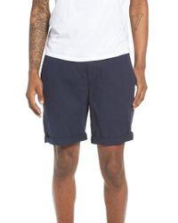 The Rail - Washed Cuffed Shorts - Lyst