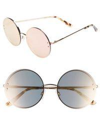 Chelsea28 - Ariana 58mm Round Sunglasses - Lyst