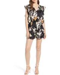 BISHOP AND YOUNG - Bishop + Young Ruffle Romper - Lyst