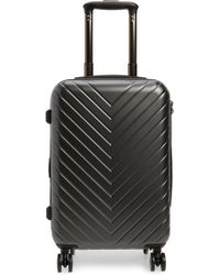 Nordstrom - Chevron 18-inch Spinner Carry-on - Metallic - Lyst