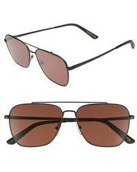 TOMS - Irwin 58mm Sunglasses - Lyst