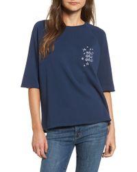 South Parade - Girls Girls Girls Embroidered Sweatshirt - Lyst