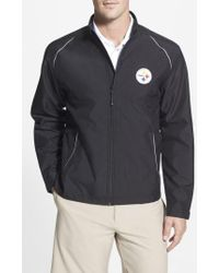 Cutter & Buck - 'pittsburgh Steelers - Beacon' Weathertec Wind & Water Resistant Jacket - Lyst