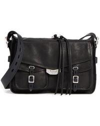 Rag & Bone - Bomber Leather Messenger Bag - Lyst