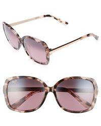 Maui Jim - Melika 58mm Polarized Square Sunglasses - - Lyst