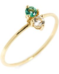 Bony Levy - Birthstone & Diamond Stacking Ring (nordstrom Exclusive) - Lyst