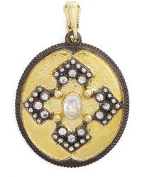 Armenta - Old World Diamond Pendant - Lyst