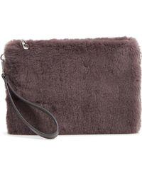 Chelsea28 - Astley Faux Fur Convertible Clutch - Lyst