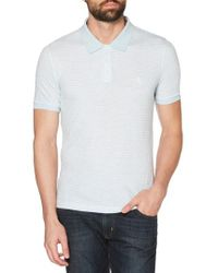 Original Penguin - Nep Stripe Polo - Lyst