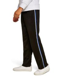 TOPMAN - Classic Tricot Taped Jogger Pants - Lyst