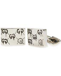 Gucci - Ghost Motif Cuff Links - Lyst