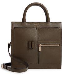 OAD NEW YORK - Mini Kit Leather Satchel - Lyst