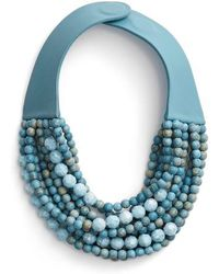 Fairchild Baldwin - Farichild Baldwin Marcella Beaded Collar Necklace - Lyst