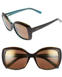 Maui Jim - Orchid 56mm Polarizedplus2 Sunglasses - Lyst